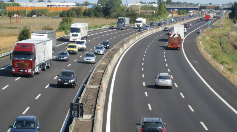 Un'autostrada italiana