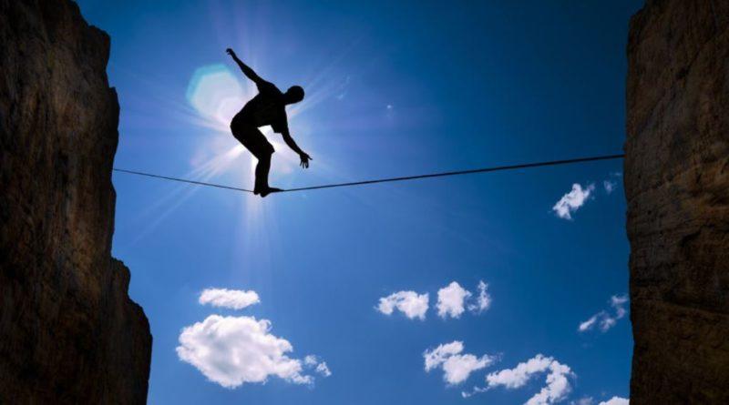 Funambolo sulla corda