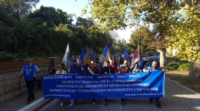 XI marcia internazionale per la libertà delle minoranze e dei popoli oppressi - Campagnano di Roma - 13 ottobre 2018