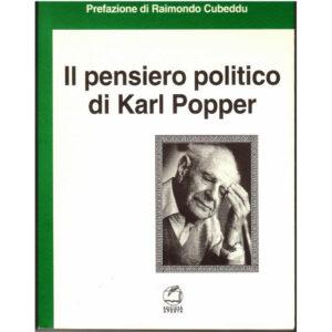 La copertina del libro Il pensiero politico di Karl Popper