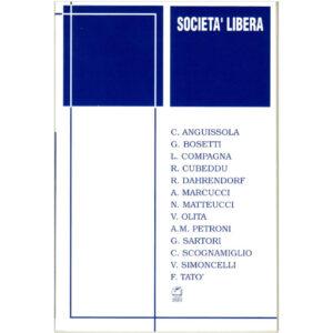 La copertina del libro Società Libera AAVV