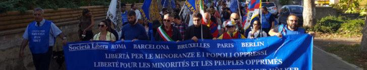 XI marcia internazionale per la libertà dei popoli e delle minoranze oppresse