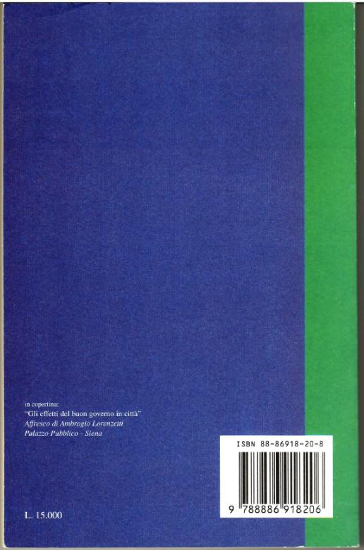 Il retro copertina del libro La copertina del libro La libertà dei moderni tra liberalismo e democrazia