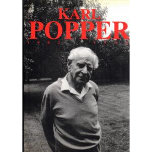 La copertina del libro catalogo Karl Popper