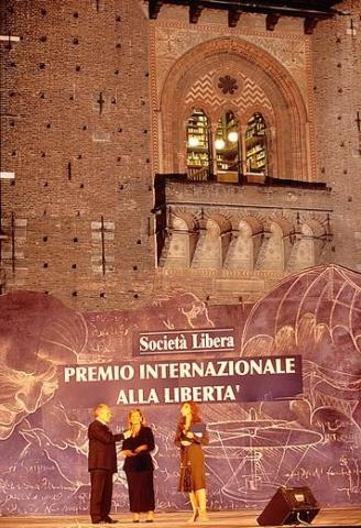 Milano, IV Premio Internazionale alla Libertà, 8 giugno 2006