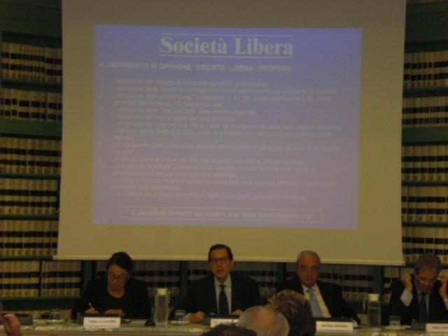 Roma e Milano, VII Rapporto sulla Liberalizzazione della Società Italiana, maggio 2009