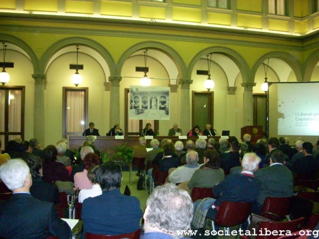 Milano, I liberali processano il capitalismo, 30 novembre 2009