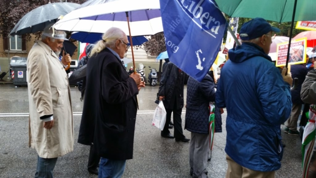 Roma e Parigi, VIII Marcia Internazionale per la Libertà, 10 ottobre 2015