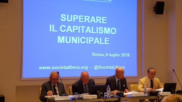 Roma, Presentazione Superare il capitalismo municipale, 6 luglio 2016