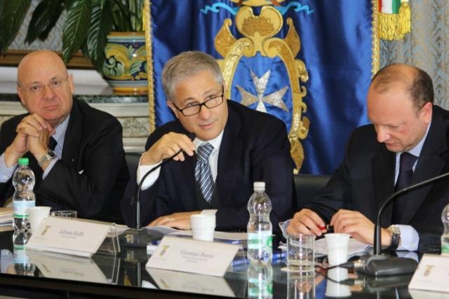 Salerno, Convegno Stato e criminalità, 10 novembre 2012