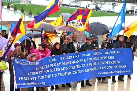Parigi, V Marcia per la LIbertà, 13 ottobre 2012