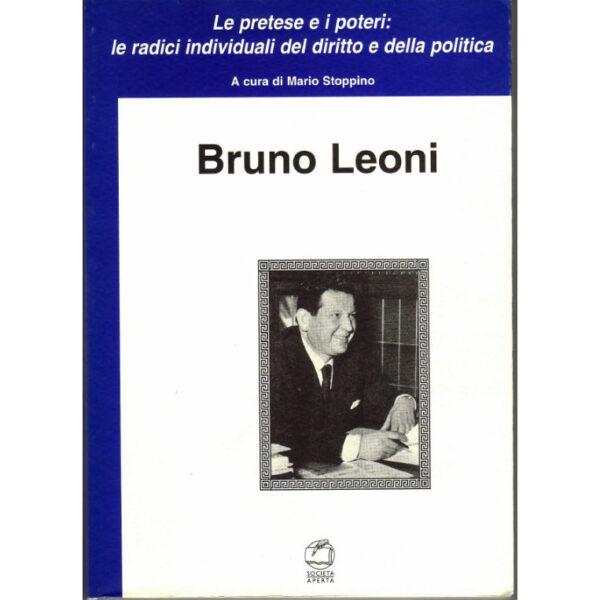 La copertina del libro Bruno Leoni
