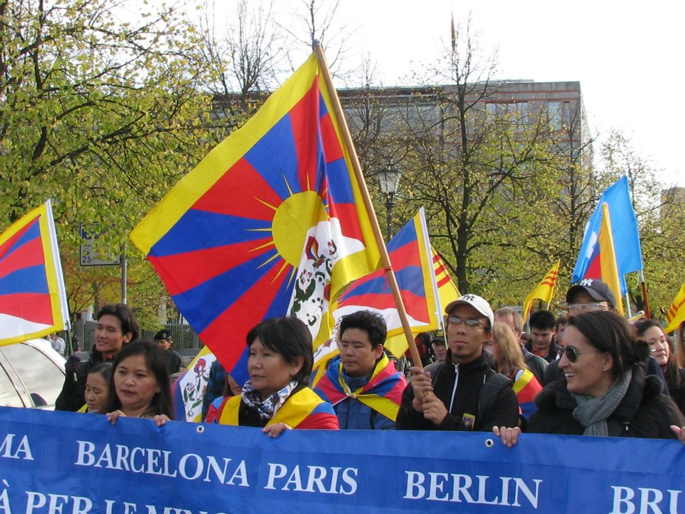Berlino, V Marcia per la Libertà, 13 ottobre 2012