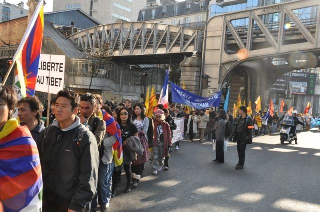 Parigi, IV Marcia Internazionale per la Libertà, 22 ottobre 2011