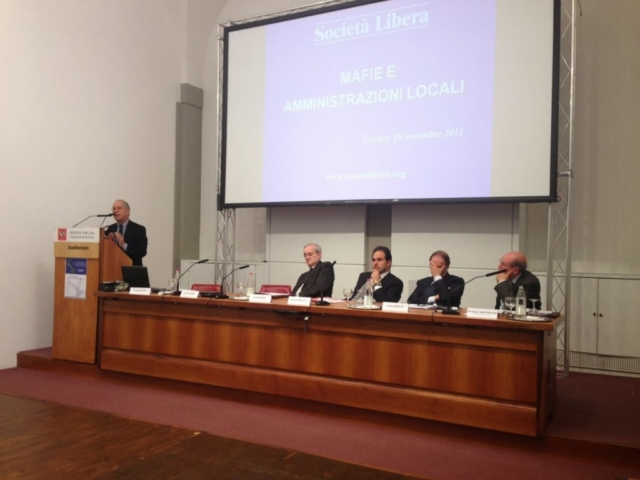 Firenze, Convegno Mafie e amministrazioni locali, 16 novembre 2013