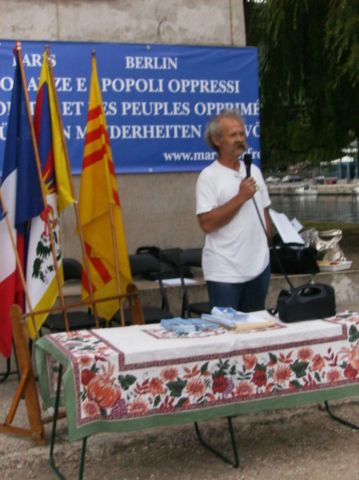 Roma e Parigi, Presentazione della IV Marcia per la LIbertà, 9 settembre 2011