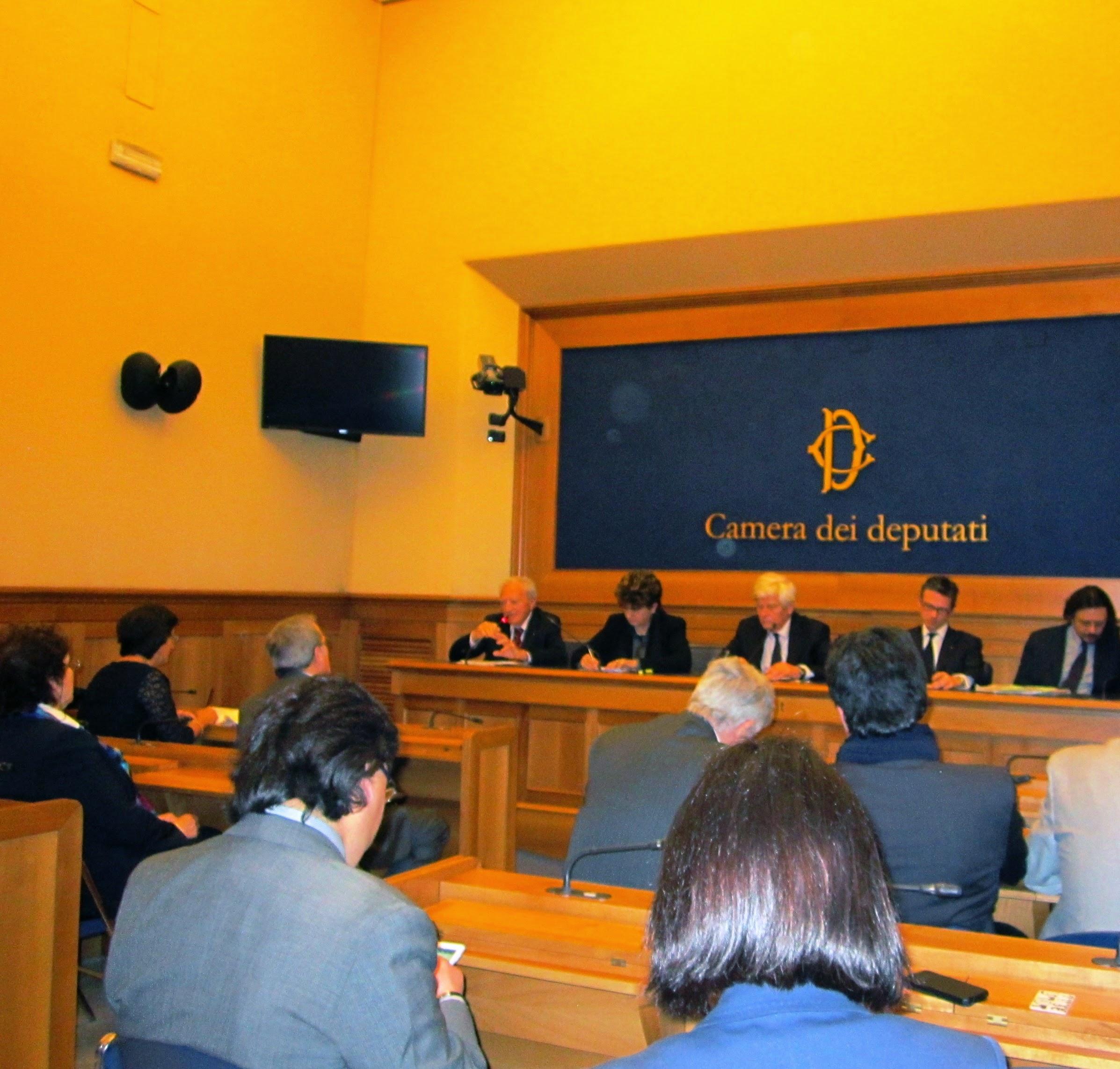Roma, Conferenza Stampa, La Passione per la Libertà, 24 aprile 2014