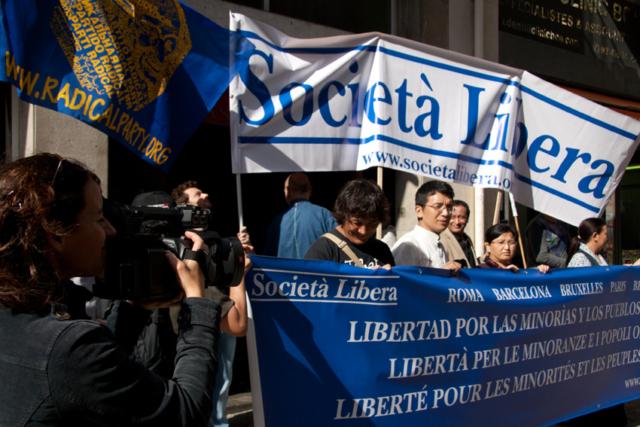 Barcellona, V Marcia per la Libertà, 13 ottobre 2012