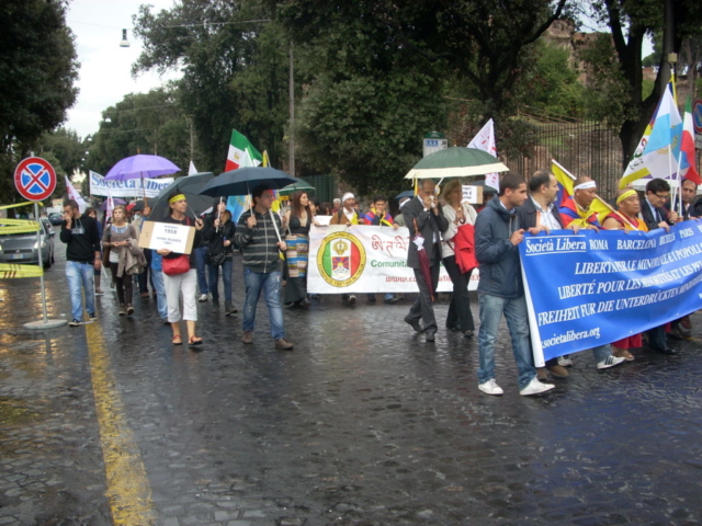 Roma, V Marcia per la Libertà, 13 ottobre 2012