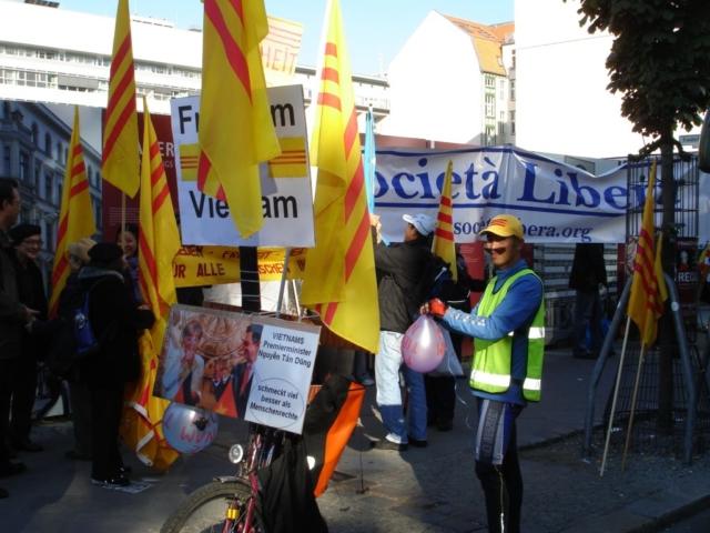 Berlino, IV Marcia Internazionale per la Libertà, 22 ottobre 2011