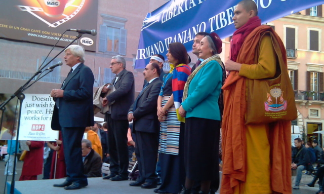 Roma, III Marcia Internazionale per la Libertà, 23 ottobre 2010