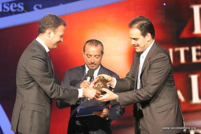 Napoli, VI Premio Internazionale alla Libertà, 19 giugno 2008