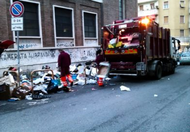 Raccolta rifiuti urbani a Roma