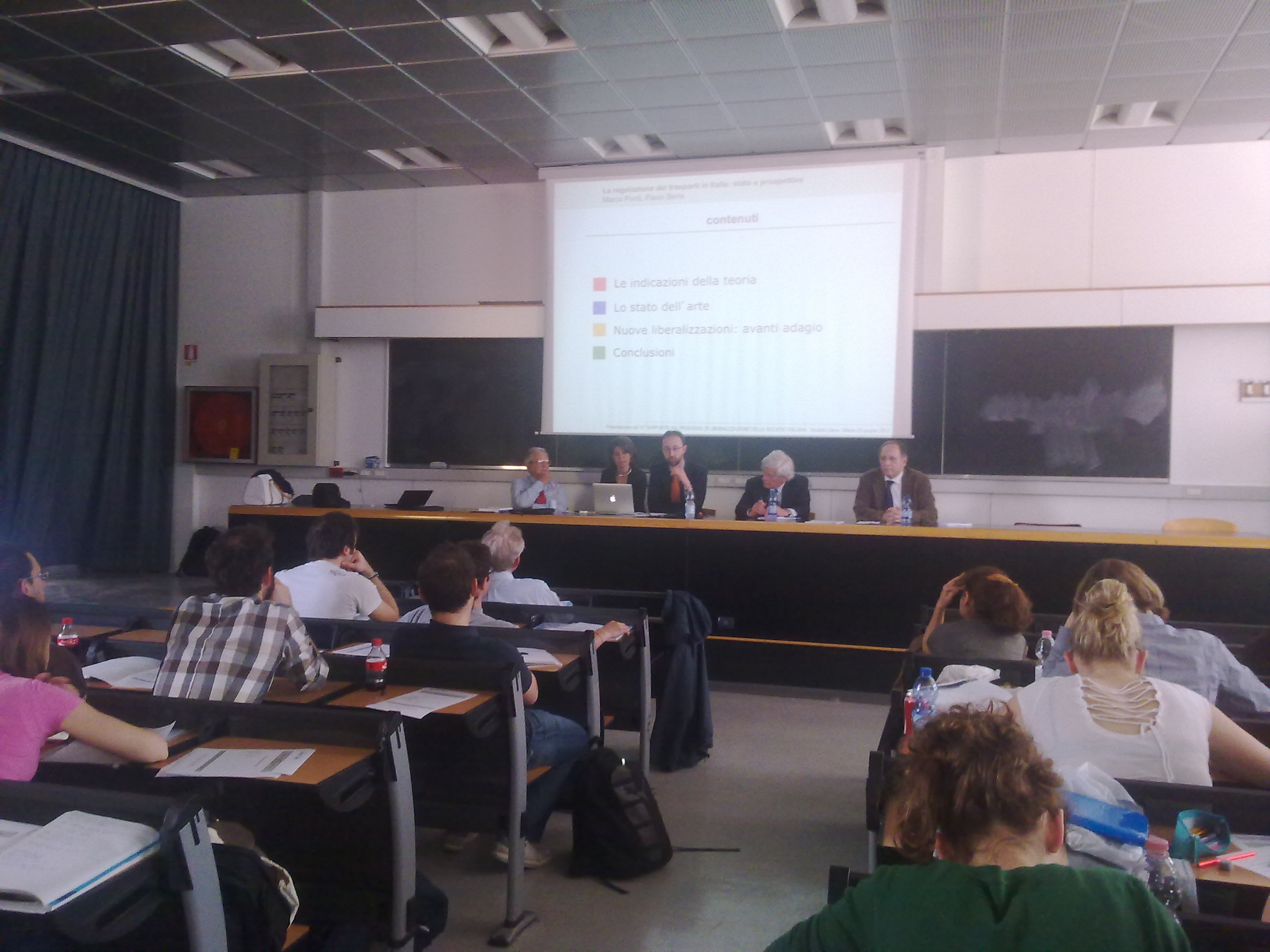 Roma e Milano, X Rapporto sulla Liberalizzazione della società italiana - aprile, maggio e giugno 2012