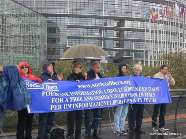 Strasburgo, l'Italia ha bisogno di un'informazione seria e consapevole, 14 settembre 2009
