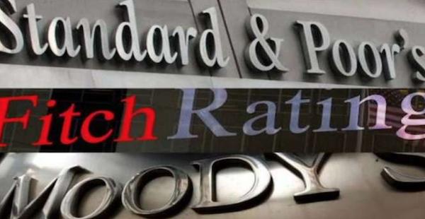 I loghi delle maggiori società di rating