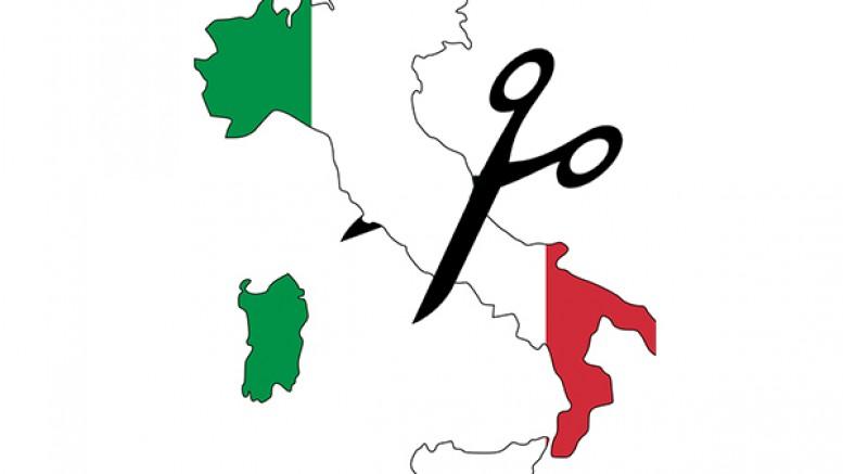 Italia tagliata in due
