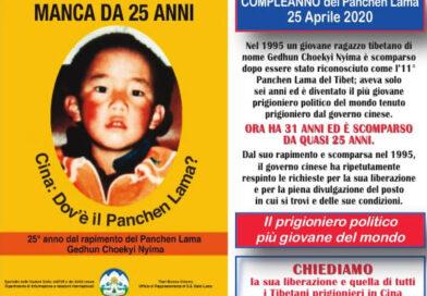 Al GOVERNO CINESE:Liberate il Panchen Lama