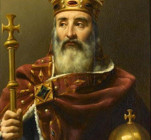 Charlemagne empereur d'Occident (742-814)