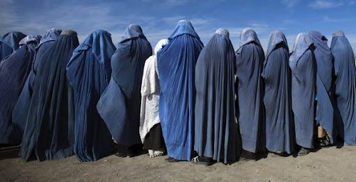 Donne Afghane con il burka